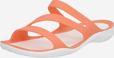 Crocs Mule 'Swiftwater' en rose / blanc, Vue avec produit