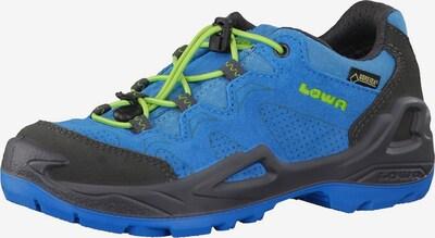 LOWA Outdoorschuhe 'Diego Gtx' in blau / kiwi / schwarz, Produktansicht