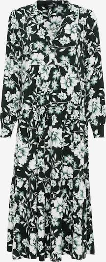 HALLHUBER Kleid in smaragd / weiß, Produktansicht