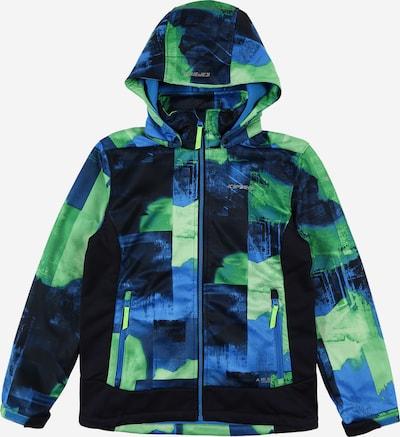 ICEPEAK Softshelljacke 'LANGFORD' in blau / grün, Produktansicht