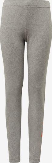 ADIDAS PERFORMANCE Leggings in graumeliert / koralle, Produktansicht