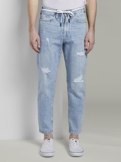TOM TAILOR DENIM Jeanshosen Loose Fit Jeans im 90er-Look in blau, Modelansicht