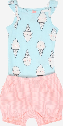 Carter's Set 'SUMMER TRANS S20 G LBB BB ICECREAM' in mint / rosa, Produktansicht