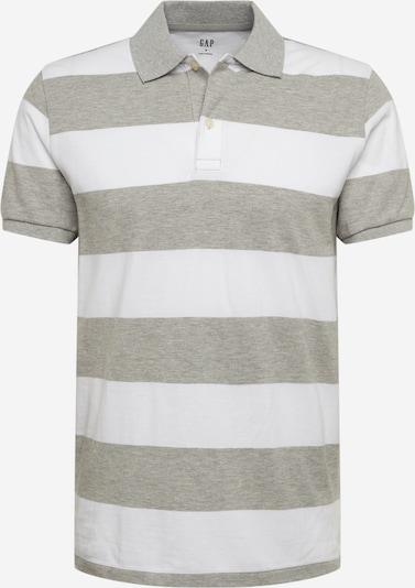 GAP Shirt 'V-RUGBY PIQUE POLO' in grau, Produktansicht