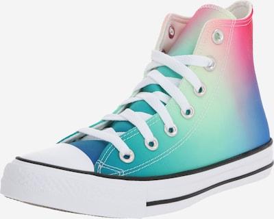 CONVERSE Sneaker 'CHUCK TAYLOR ALL STAR - HI' in blau / grün / rot, Produktansicht