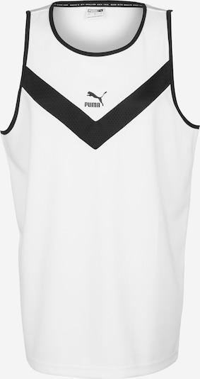 PUMA Shirt in schwarz / weiß, Produktansicht