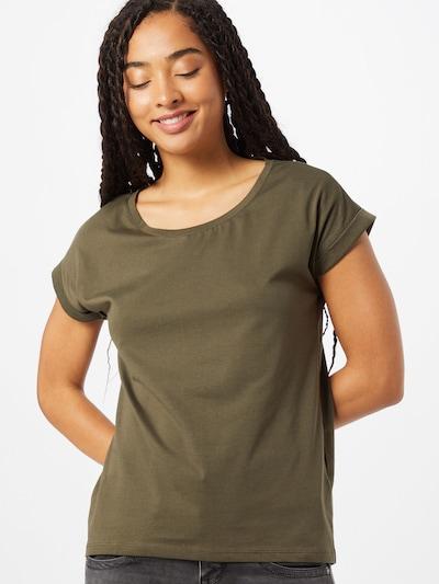VILA T-Shirt 'Dreamers' in oliv: Frontalansicht