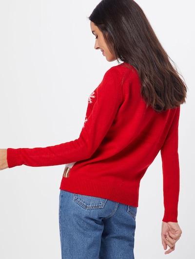 VERO MODA Sweter w kolorze czerwonym: Widok od tyłu
