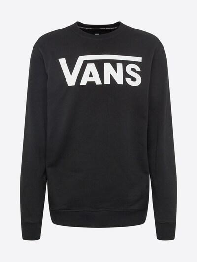 VANS Sweatshirt 'Classic II' in schwarz / weiß, Produktansicht
