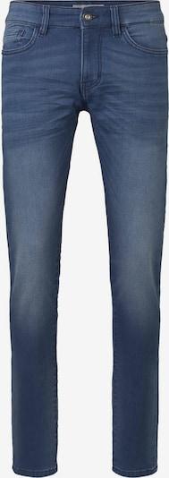 TOM TAILOR Jeanshosen Troy Slim Jeans in Sweat-Optik in blau, Produktansicht