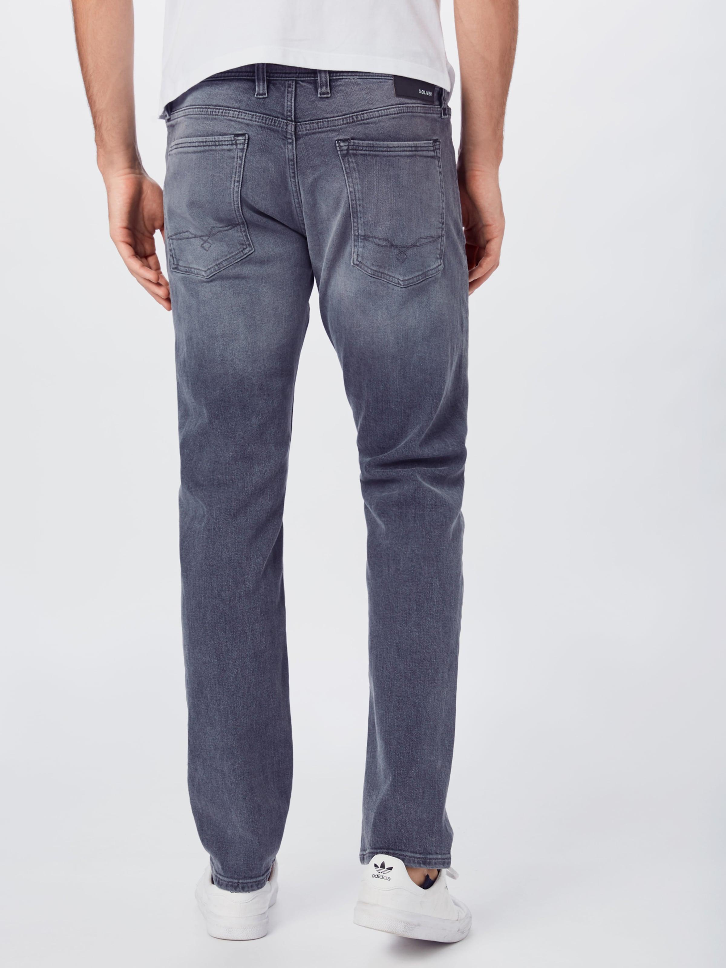 s.Oliver Jeans i grå denim