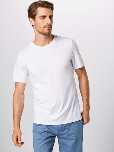 Tricou SCOTCH & SODA pe alb, Vizualizare model