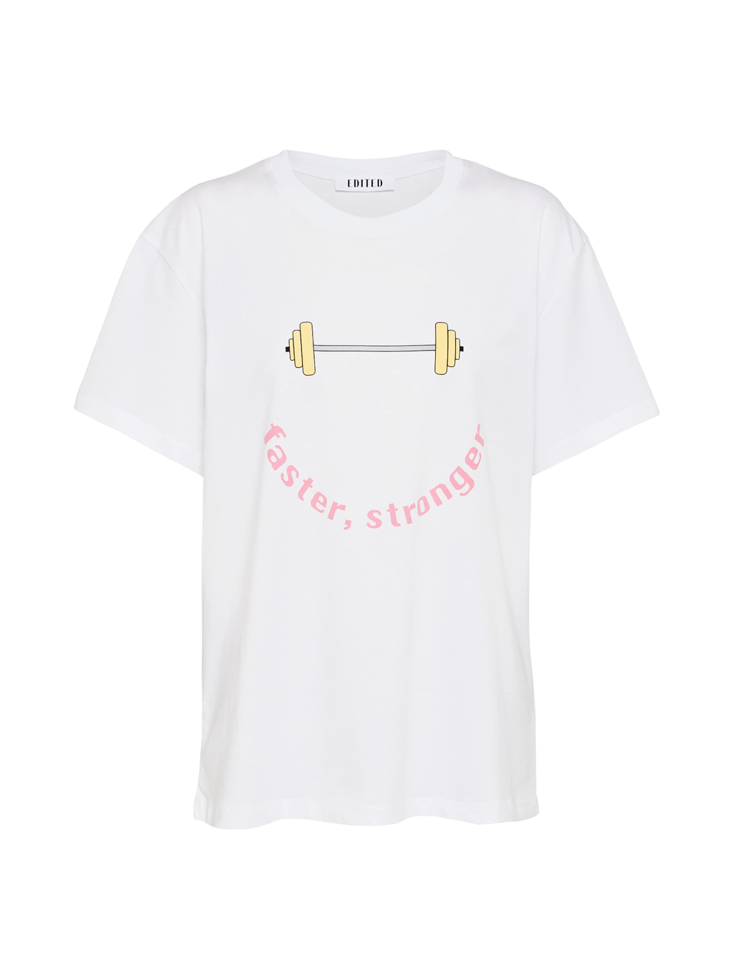 In Edited 'belma' shirt GelbPink T Weiß On08vmyNwP