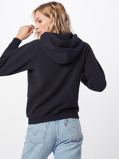 POLO RALPH LAUREN Sweatshirt 'SHRNKHDSMPP-LONG SLEEVE-KNIT' in de kleur Zwart: Achteraanzicht