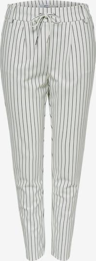 ONLY Bandplooibroek in de kleur Zwart / Wit, Productweergave