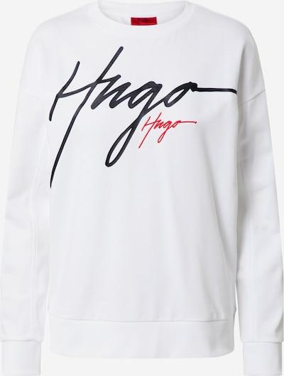 HUGO Sweater majica 'Nacinia' u bijela, Pregled proizvoda