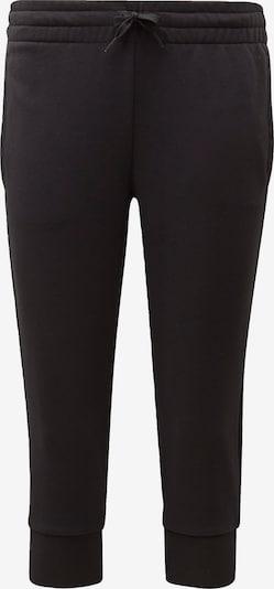 ADIDAS PERFORMANCE Sportbroek 'Essentials Linear' in de kleur Zwart / Wit, Productweergave