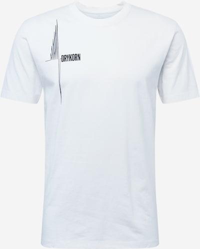DRYKORN Shirt 'SAMUEL' in schwarz / weiß, Produktansicht