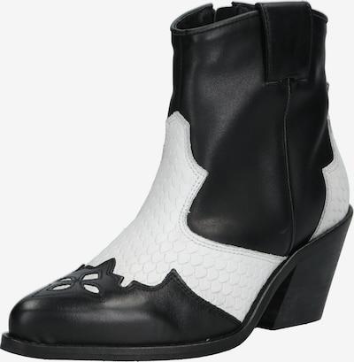 Bianco Boots 'Cuba' in de kleur Zwart / Natuurwit: Vooraanzicht