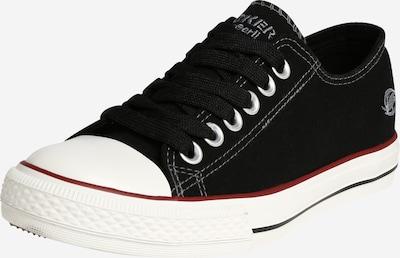 fekete / fehér Dockers by Gerli Rövid szárú edzőcipők, Termék nézet