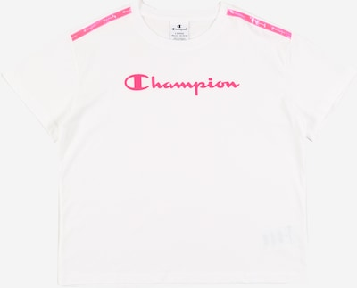 Champion Authentic Athletic Apparel T-Shirt en blanc, Vue avec produit