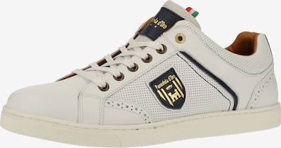 PANTOFOLA D'ORO Sneaker in weiß: Frontalansicht