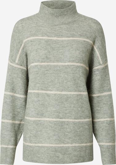 OBJECT Pullover in grau / weiß, Produktansicht