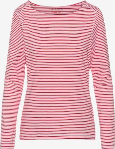 CRAGHOPPERS Langarmshirt 'NosiLife Erin' in rot / weiß, Produktansicht