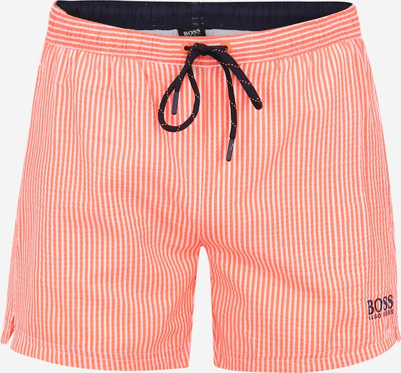BOSS Badehose in orange, Produktansicht