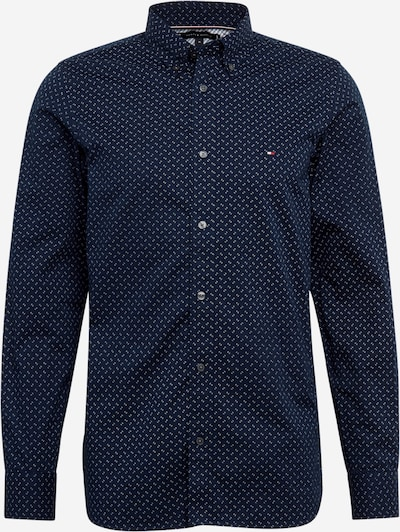 TOMMY HILFIGER Košile 'SLIM GEO' - námořnická modř / bílá, Produkt