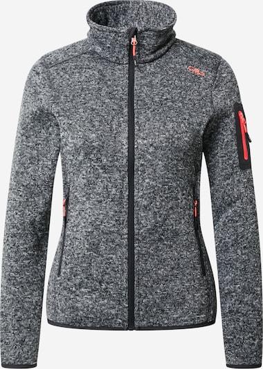 Jachetă  fleece funcțională CMP pe gri metalic / roșu, Vizualizare produs