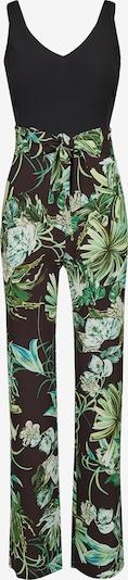 Nicowa Jumpsuit in grün / schwarz, Produktansicht