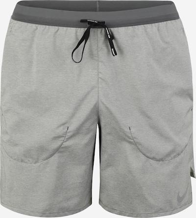 NIKE Pantalon de sport 'Flex Stride' en gris clair / gris foncé, Vue avec produit