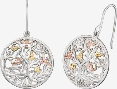 Engelsrufer Ohrhaken 'Lebensbaum' in gold / silber, Produktansicht