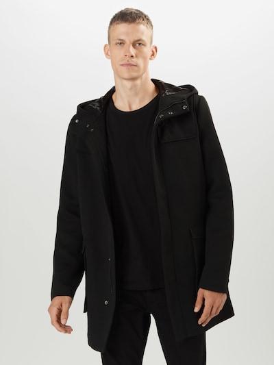 Only & Sons Mantel 'JACOB ' in schwarz, Modelansicht