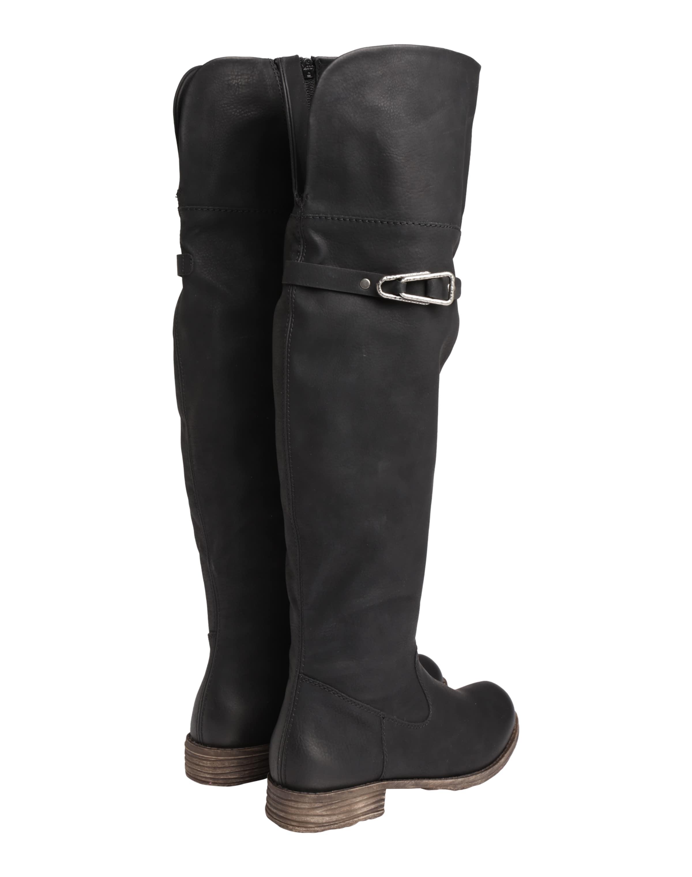 RIEKER Overknee mit Zierschnalle Outlet-Store Verkauf Erschwinglich Rabatt Footlocker qOH2zk