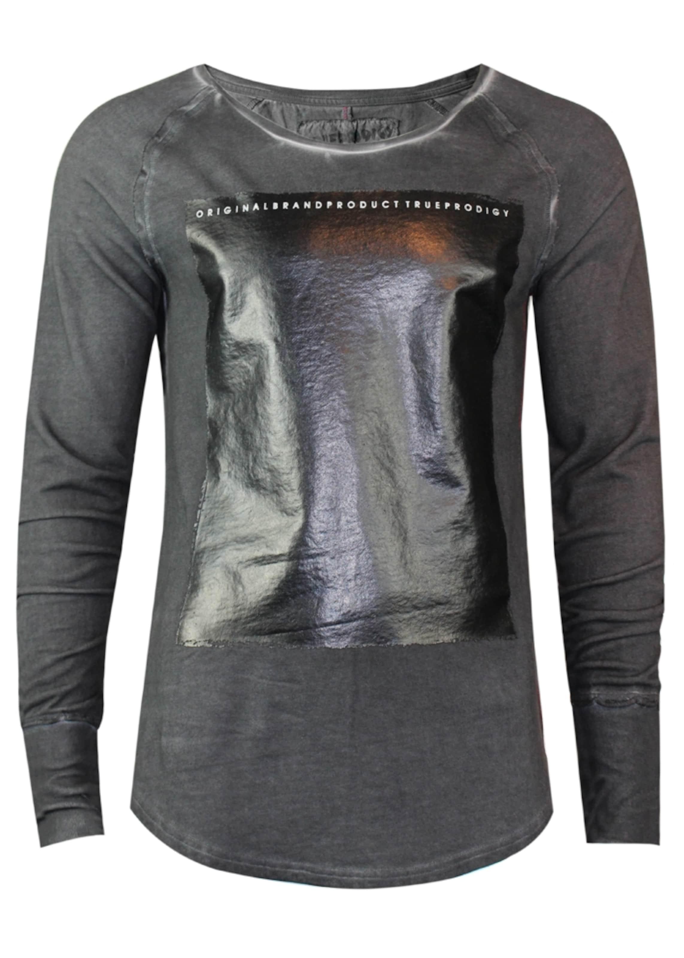 Trueprodigy AnthrazitSchwarz 'duma' Sweatshirt In H2I9WYEDe