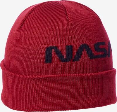 JACK & JONES Muts 'Nasa' in de kleur Donkerrood, Productweergave