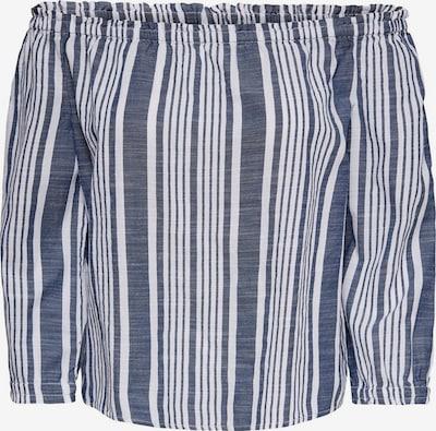 ONLY Bluzka w kolorze niebieski / białym, Podgląd produktu
