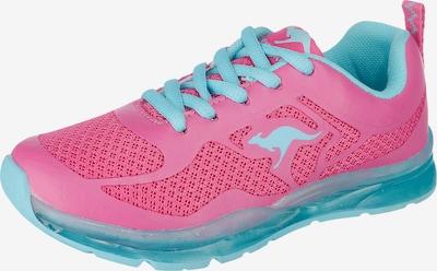 KangaROOS Kinderschuhe K-LEV III Blinkies in neonblau / pink, Produktansicht