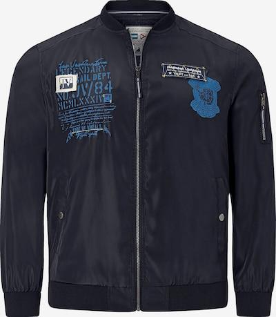 Jan Vanderstorm Jacke 'Nikas' in dunkelblau, Produktansicht