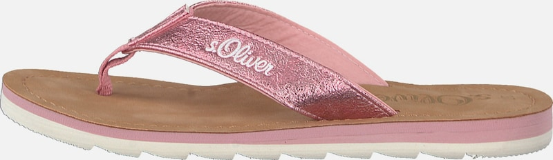 s.Oliver RED LABEL Zehentrennersandale Günstige und langlebige Schuhe