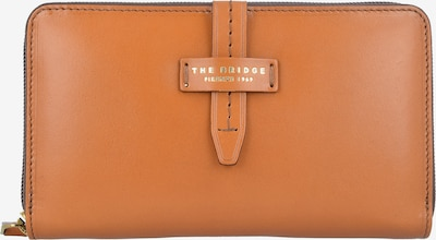 The Bridge Portemonnee in de kleur Cognac / Goud, Productweergave