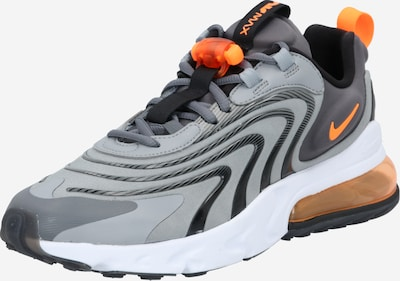 Nike Sportswear Baskets basses 'Air Max React' en gris / gris clair / orange / blanc, Vue avec produit
