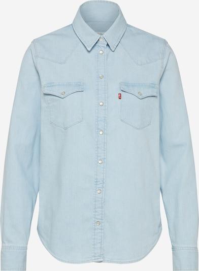 LEVI'S Blouse 'ULTIMATE WESTERN' in de kleur Lichtblauw, Productweergave
