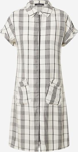 Rochie tip bluză Trendyol pe negru / alb, Vizualizare produs
