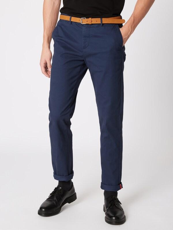Blauw En Scotchamp; 'ams Soda Chino Bleu Stuart' Foncé Pantalon dCoBerx