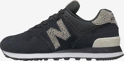new balance Sneakers laag in de kleur Beige / Zwart, Productweergave