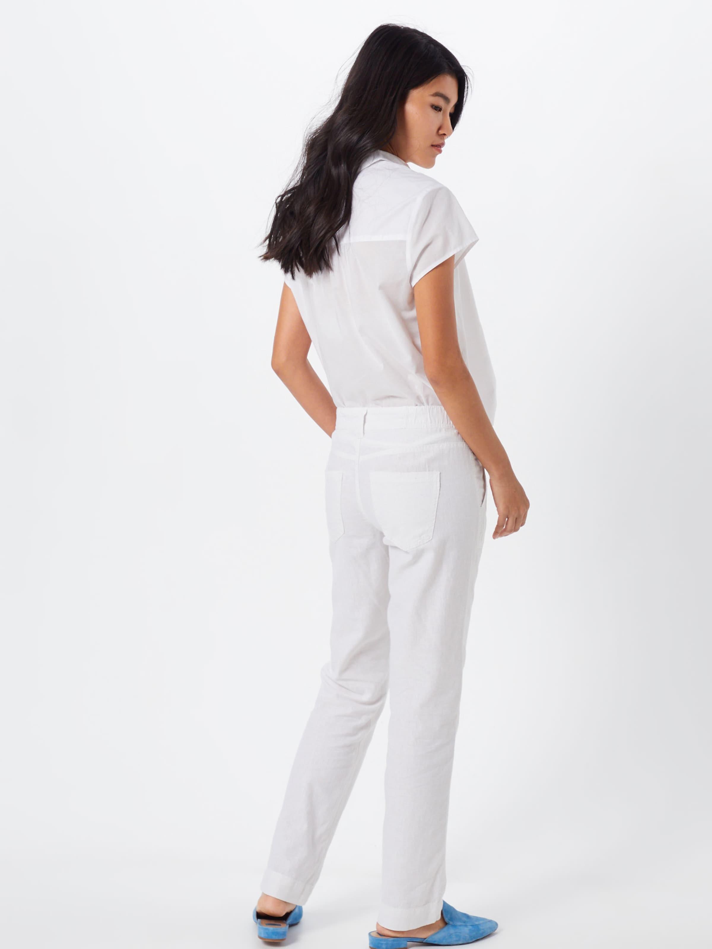'abby' Blanc By Designed En Q s Pantalon OXTwuPkZi