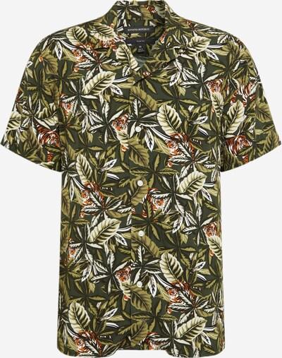 Banana Republic Overhemd 'RAYON CAMP' in de kleur Olijfgroen / Gemengde kleuren, Productweergave